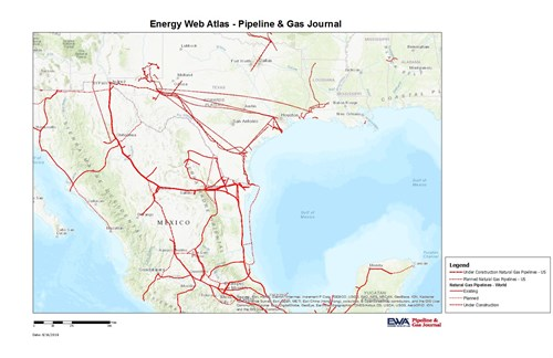 USMexico Gas Pipelines